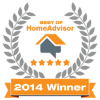 HomeAdvisor 2014 Winner